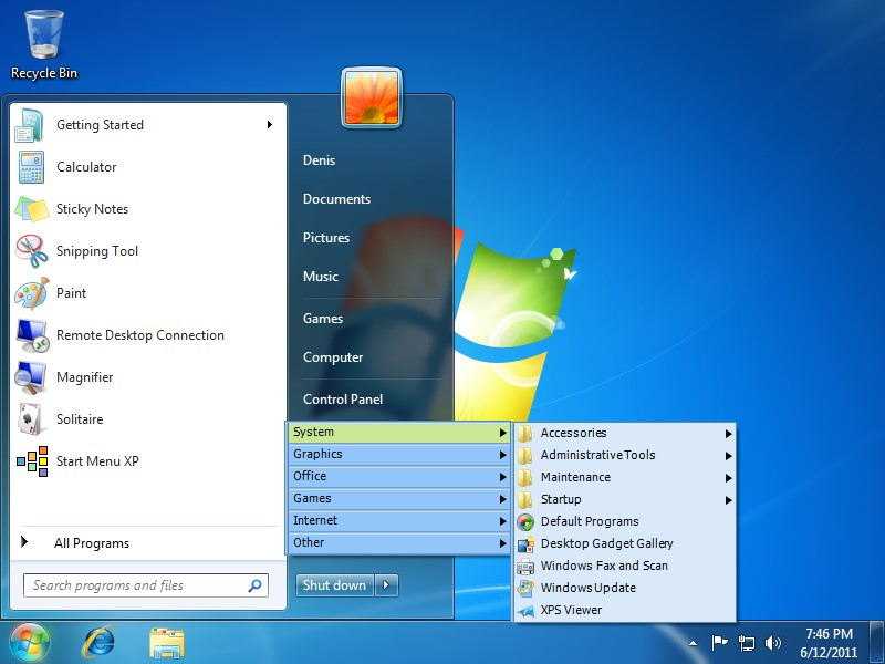 how to activate start menu 8 pro